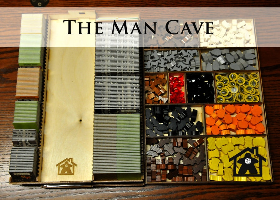 The Man Cave ( compatible with CAVERNA™ ) - Meeple Realty