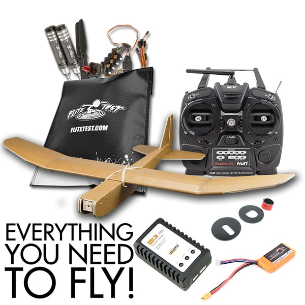 Tiny Trainer - Get Started Package | Flite Test RC Planes