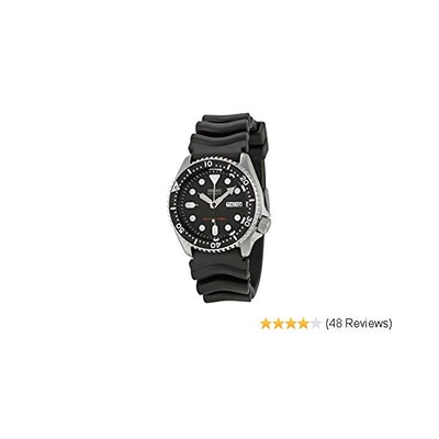 Seiko SKX013K Diver's Automatic Watch 38mm