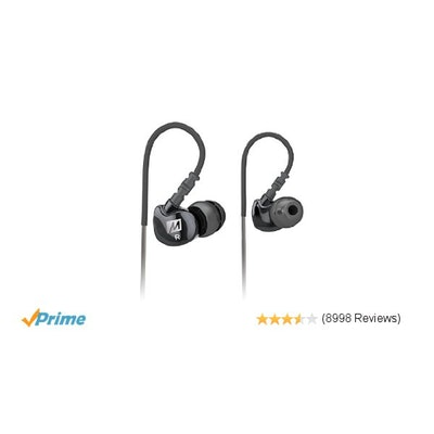 MEE audio Sport-Fi M6 Noise Isolating In-Ear Headphones