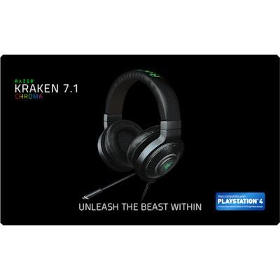 Razer Kraken 7.1 Chroma - Buy Gaming Grade Headphones - Official Razer Online St