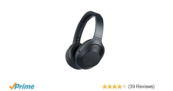 Amazon.com: Sony MDR-1000X Noise Cancelling, Bluetooth Headphone, Black (Interna