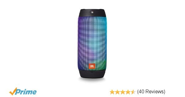 JBL Pulse 2 Portable Splashproof Bluetooth Speaker (Black)