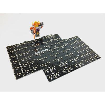BFO-9000 Keyboard - Customizable Full-Size Split Ortholinear