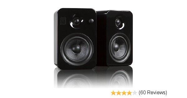 Kanto YUMI Premium Powered Bookshelf Speakers with Wireless Bluetooth
