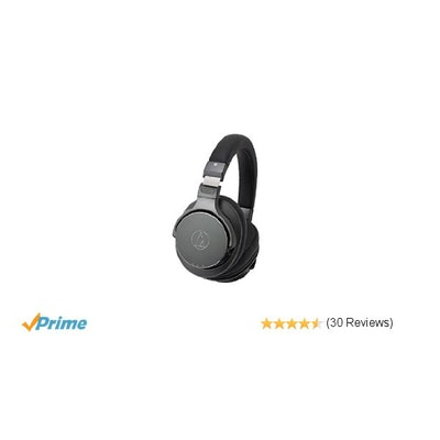 Amazon.com: Audio-Technica ATH-DSR7BT Wireless Over-Ear Headphones with Pure Dig