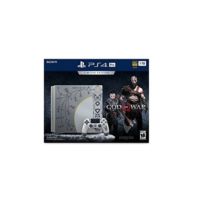 Amazon.com: PlayStation 4 Pro 1TB Limited Edition Console - God of War Bundle: V