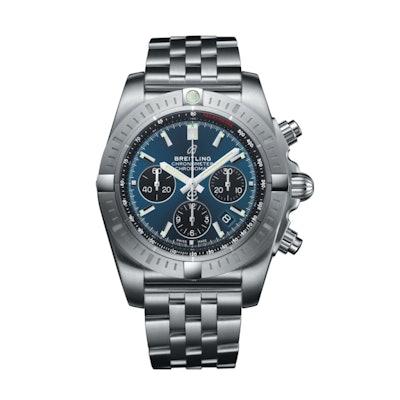 Chronomat B01 Chronograph 44 Steel Pilot AB0115101C1A1