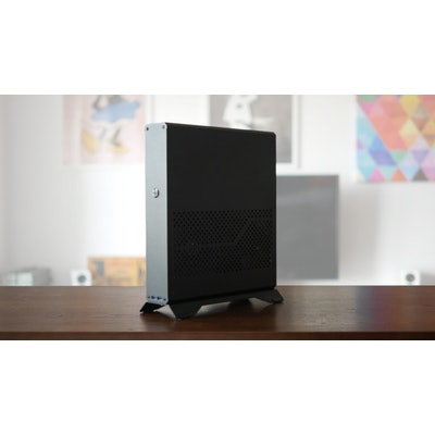 DR ZĄBER SENTRY - Console-sized gaming PC case