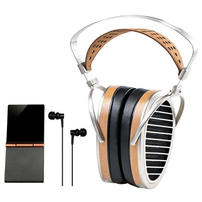 HE1000-HIFIMAN Flagship Over Ear Planar Magnetic Headphone with World's First Di