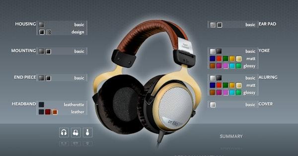 Shop Beyerdynamic DT 880 MANUFAKTUR Customized Headphones