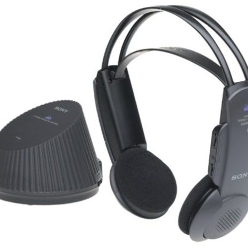 Sony MDR RF930K 900 MHz RF Wireless Headphones