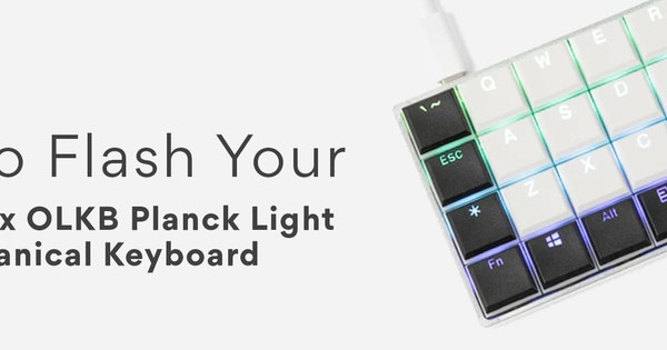 How to Flash Your Planck Light Keyboard via ISP! | Drop (formerly