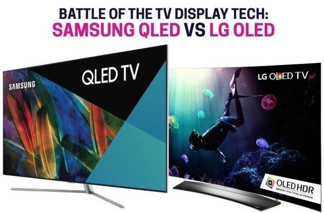 Samsung QLED vs LG OLED | Drop (formerly Massdrop)