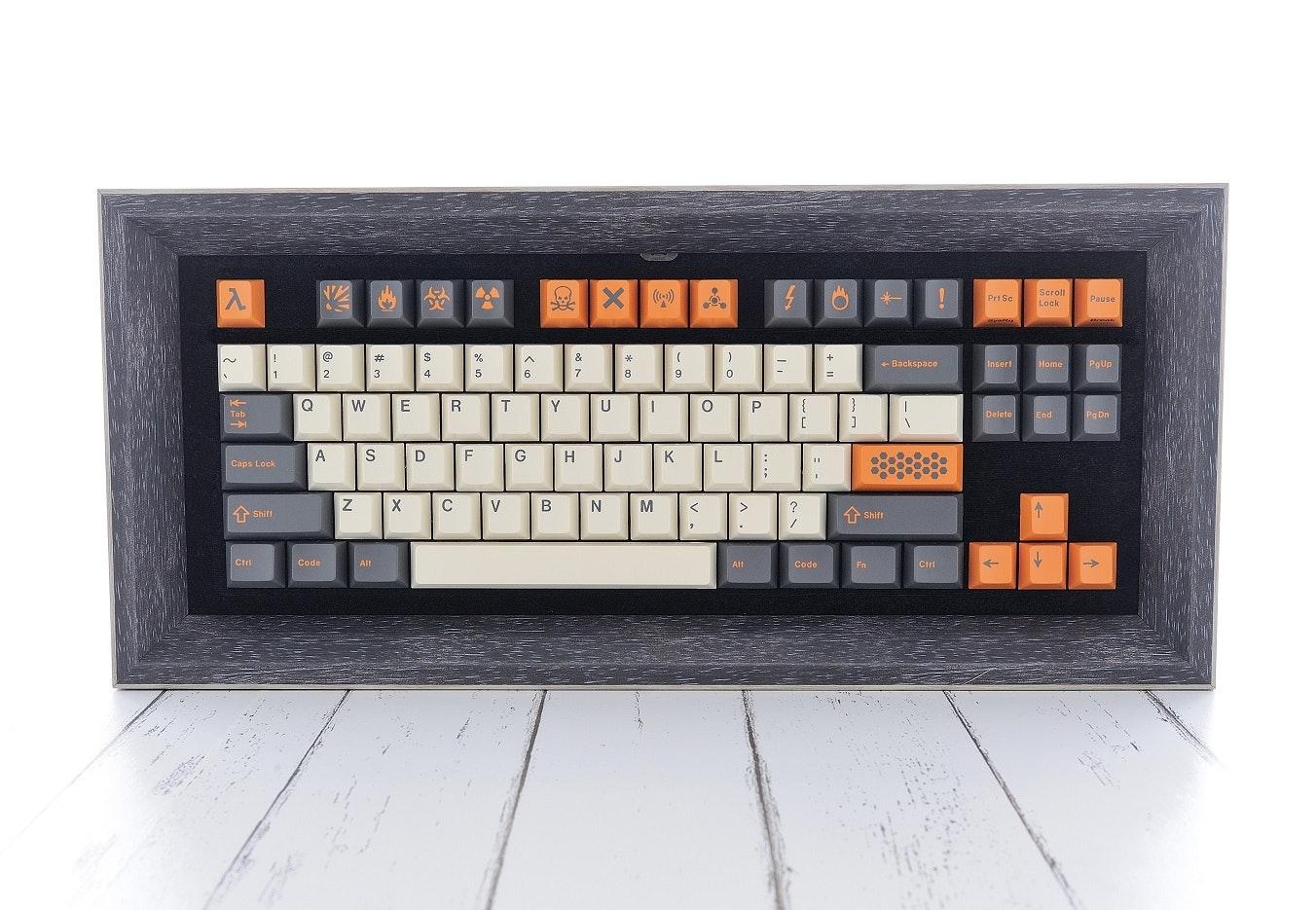 Keycaps Frame for Collector - deskthority