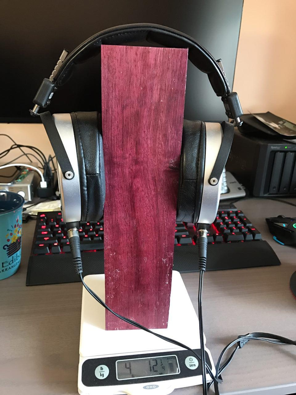 another wood headphone stand shop byer maine hammock vario stand  u0026 discover  munity reviews      rh   massdrop