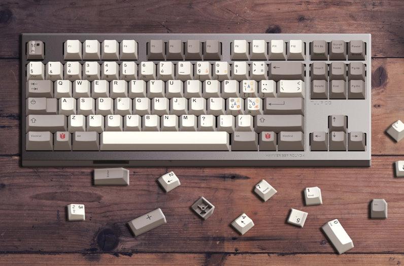 Interest Check: Hammer BSP Classic Beige Keycap Sets | Drop