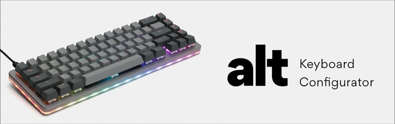 How to Configure your ALT Keyboard   Drop (formerly Massdrop)