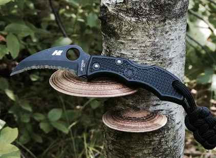 Shop Spyderco Paramilitary 2 Knife Earth Brown & Discover