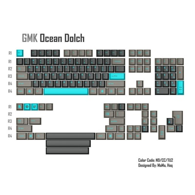 GMK Ocean Dolch (GB is live now!) | Massdrop