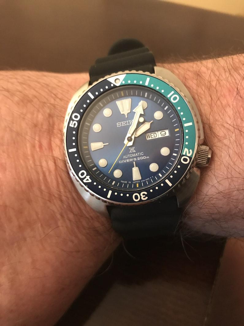 Watch Check: Seiko Turtle Blue Lagoon SRPB11 | Drop