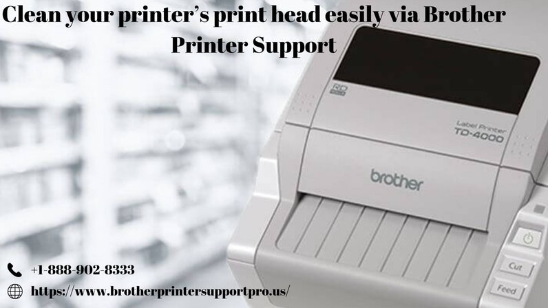Clean your printer's print head easily via Brother Printer