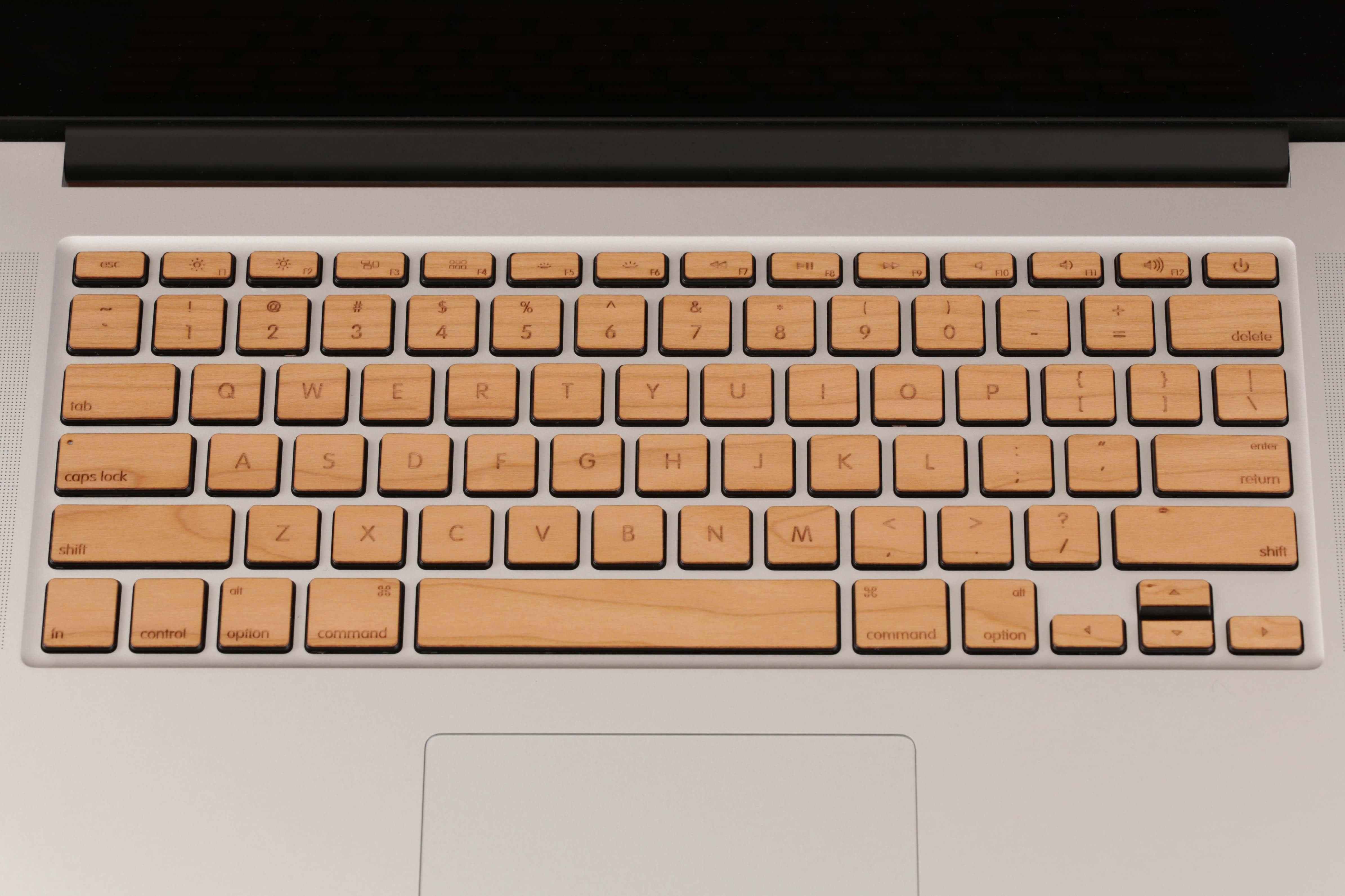 Lazerwood Macbook Pro Keys