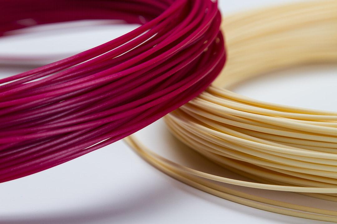 PLA Printer 1.75mm 1kg Filament Spools (2-Pack)