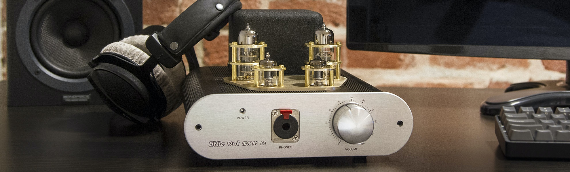 Little Dot MK IV SE Headphone Amplifier