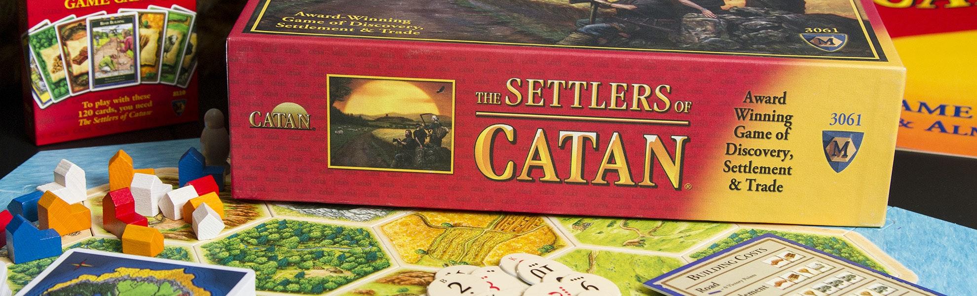 Settlers of Catan Board Game Bundle