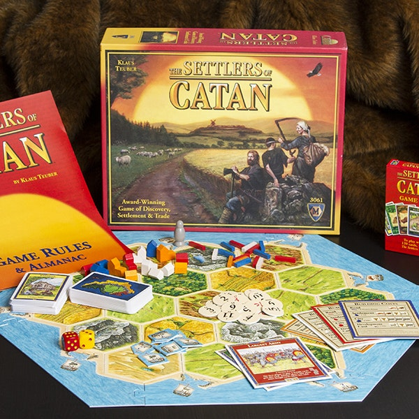 Settlers of Catan Board Game Bundle