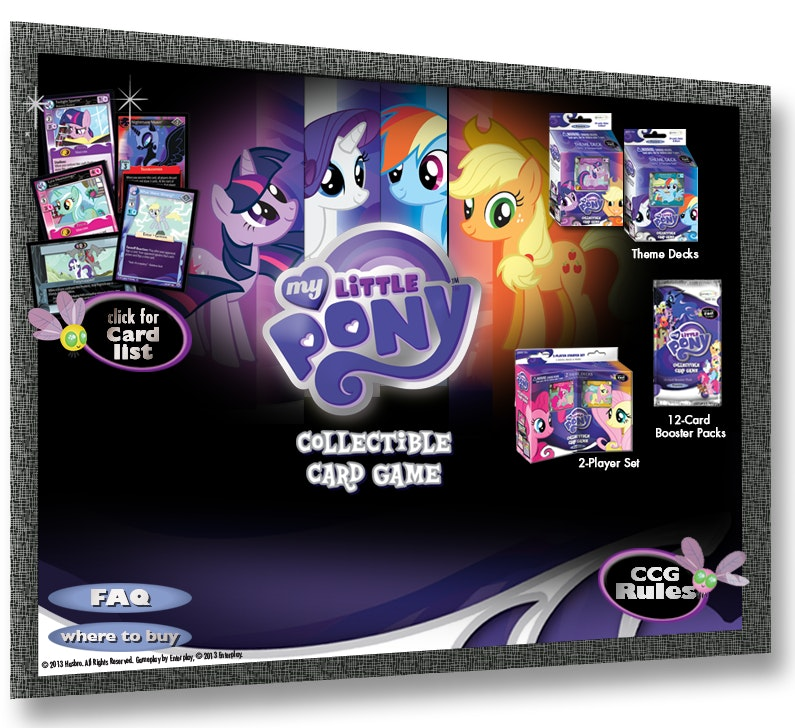 My Little Pony Cards Booster Box (36 Pack)