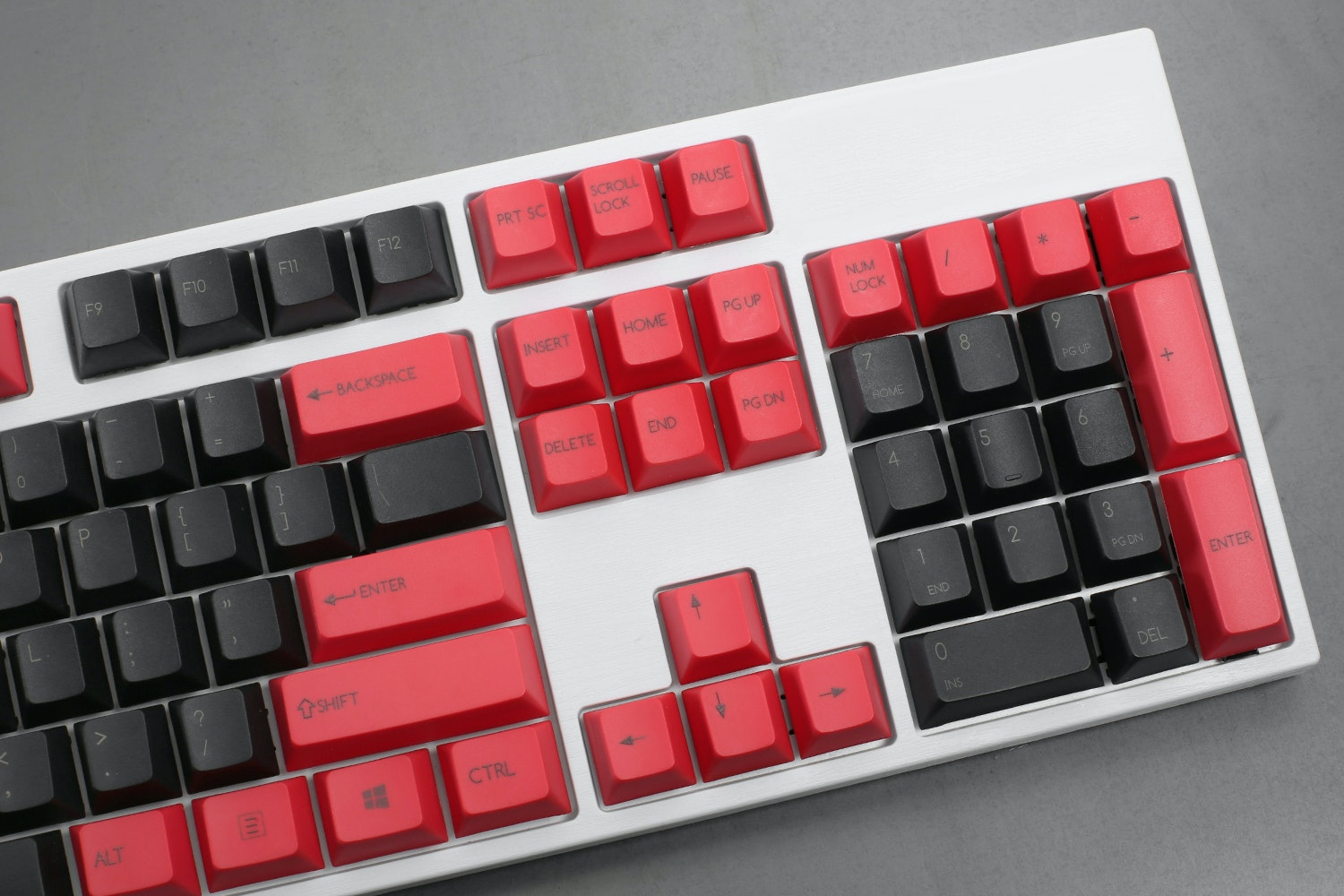 133-Key PBT Cherry Keycap Set