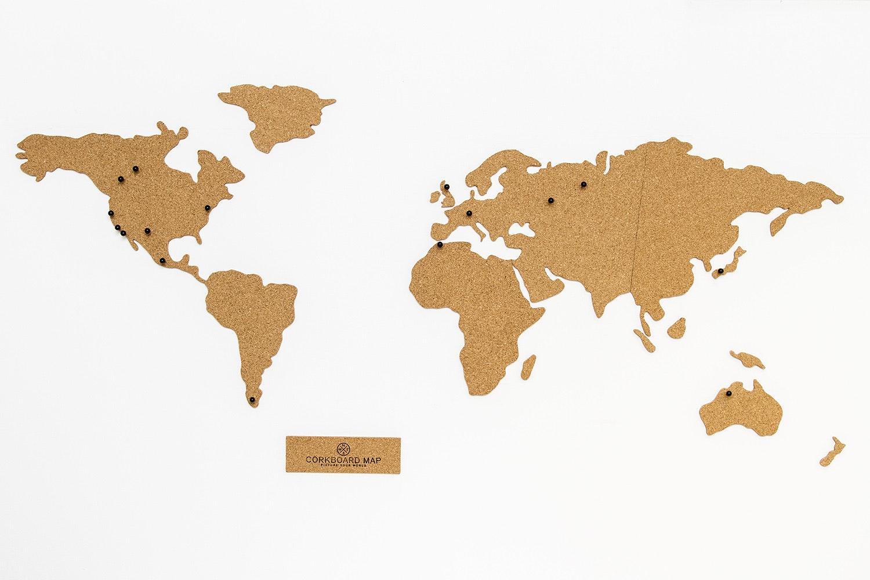 Luckies of London Corkboard Map