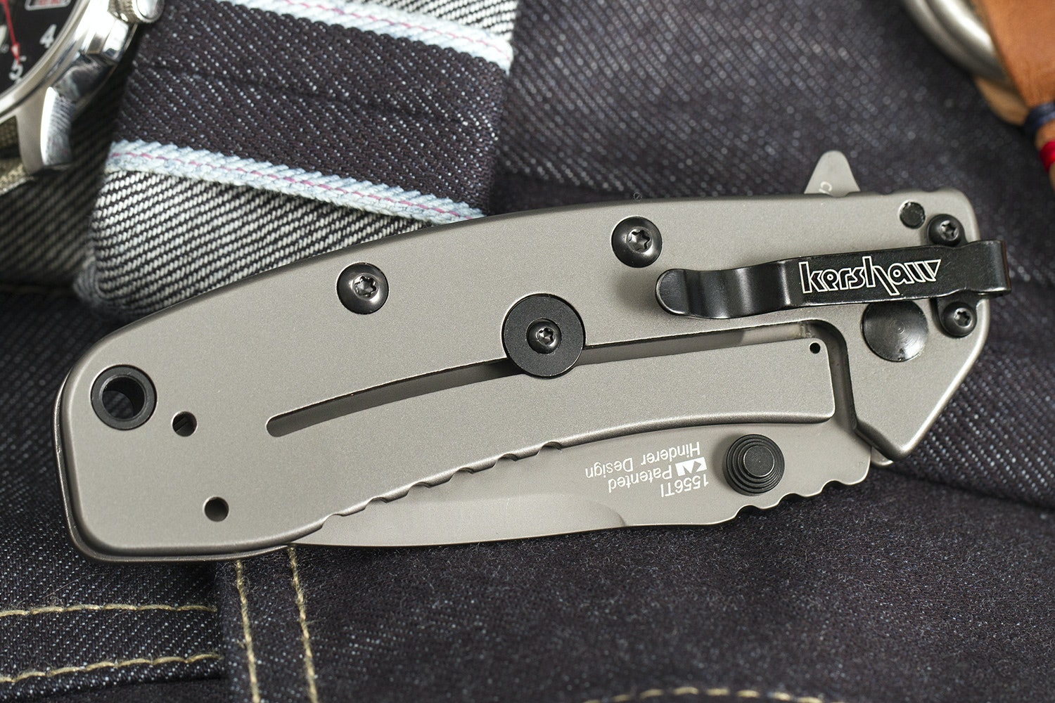Kershaw 1556TI Cryo II Folding Knife w/ SpeedSafe