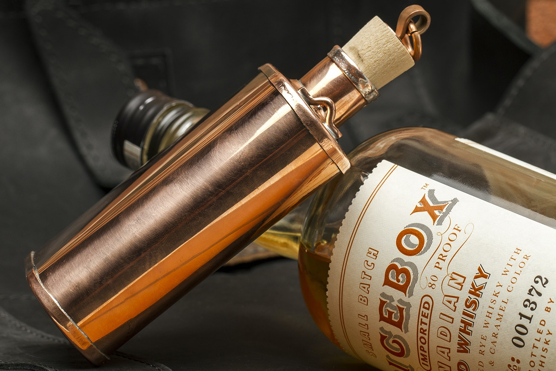 Jacob Bromwell Copper Flask