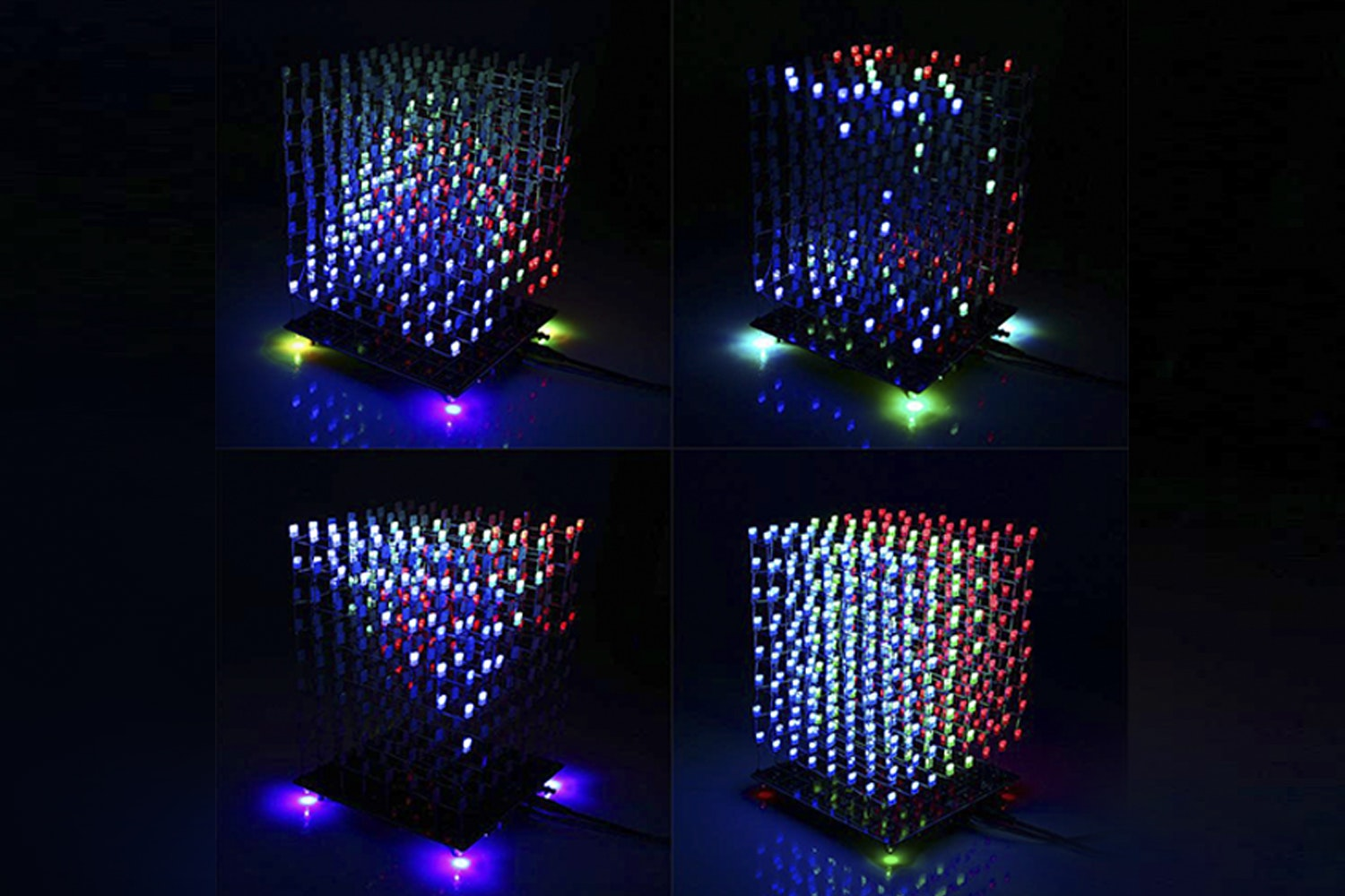 3D LED RGB DIY Light Cube Kit