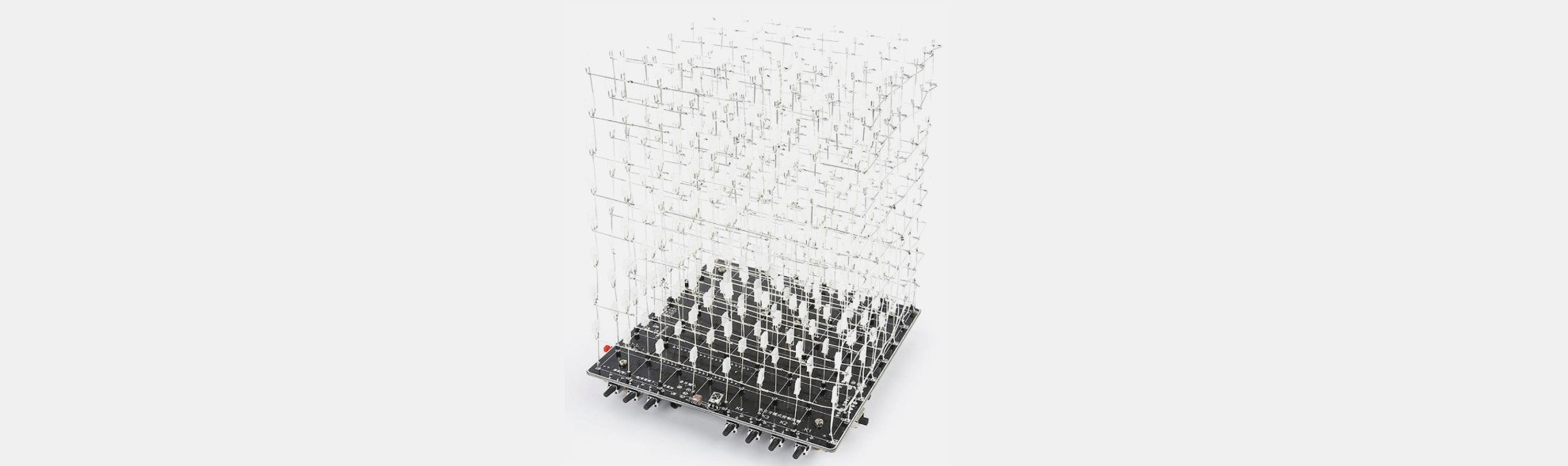 3D LED RGB DIY Light Cube Kit