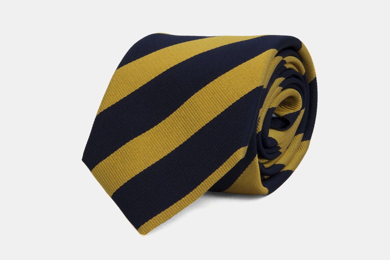 Club-striped - Navy/Yellow