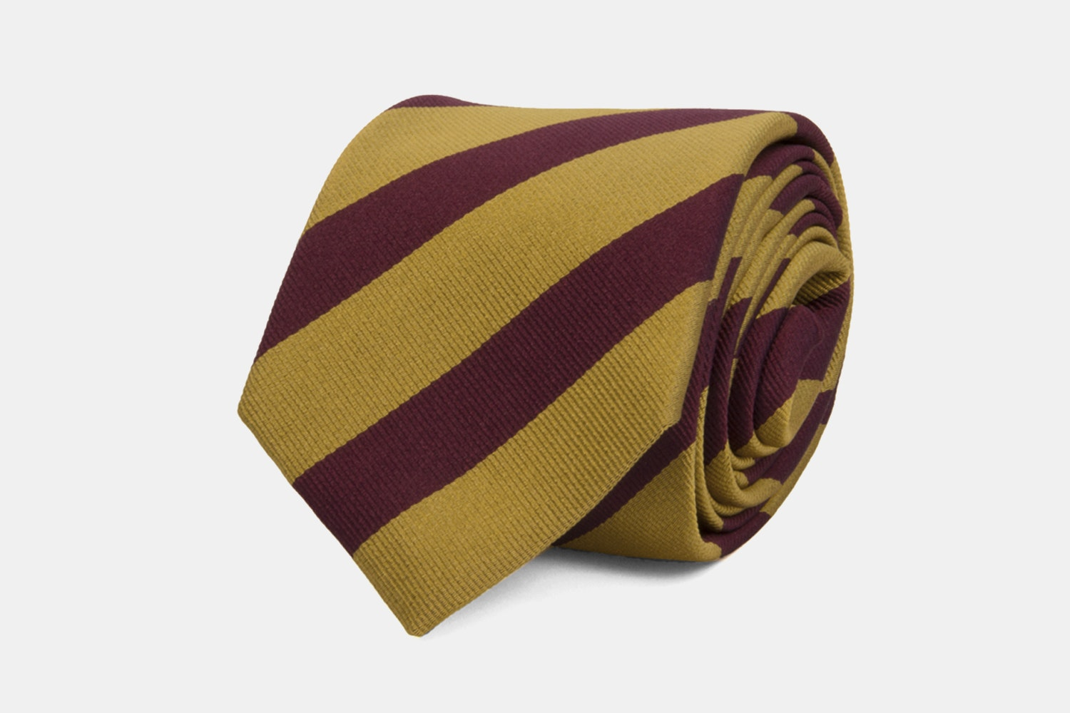 Club-striped - Gold/Burgundy