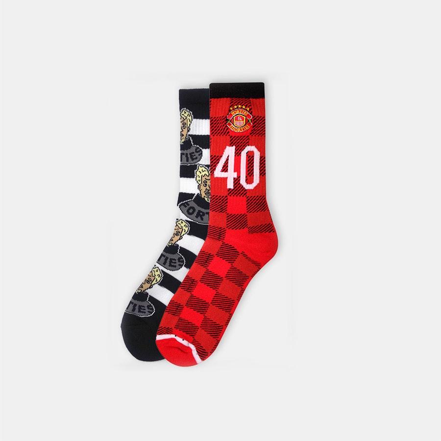 40s & Shorties Socks (2-Pack)