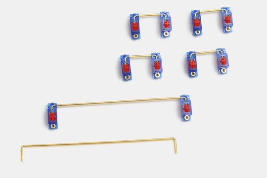 43 Studio RX78 Gold-Plated PCB Screw-In Stabilizers