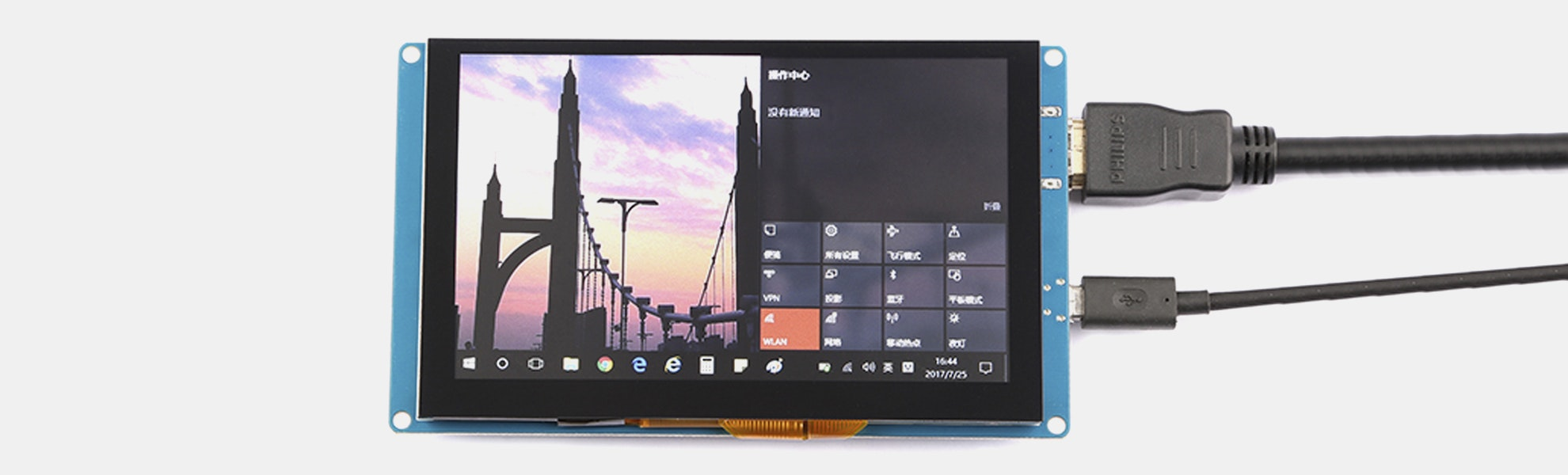 """Seeed 5"""" Capacitive Touchscreen for Raspberry Pi"""