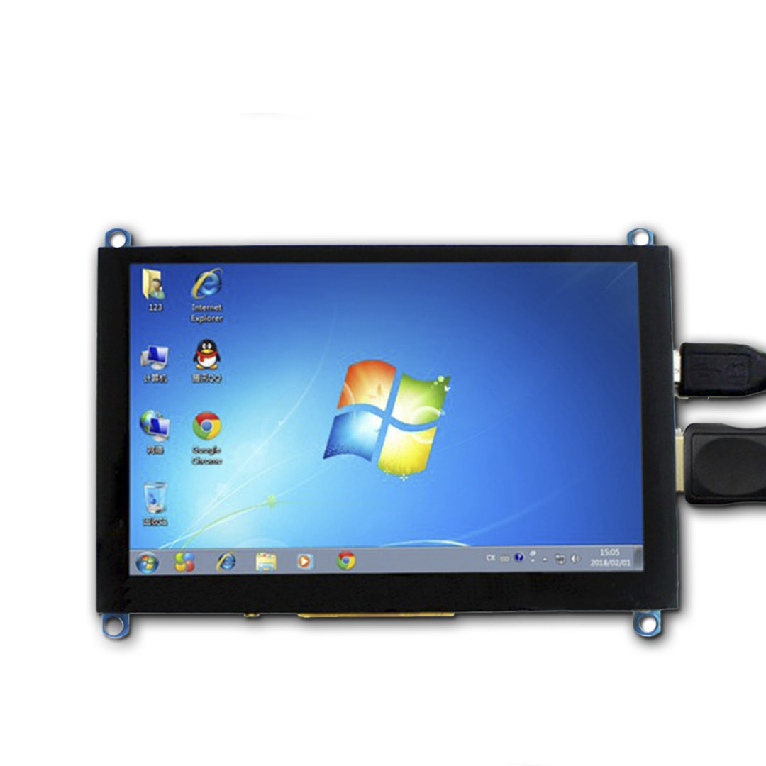 "Elecrow 5"" 800 x 480 Capacitive Touchscreen Display"