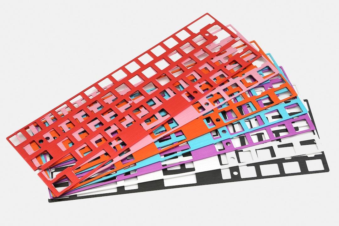 60% Aluminum Mechanical Keyboard Plate