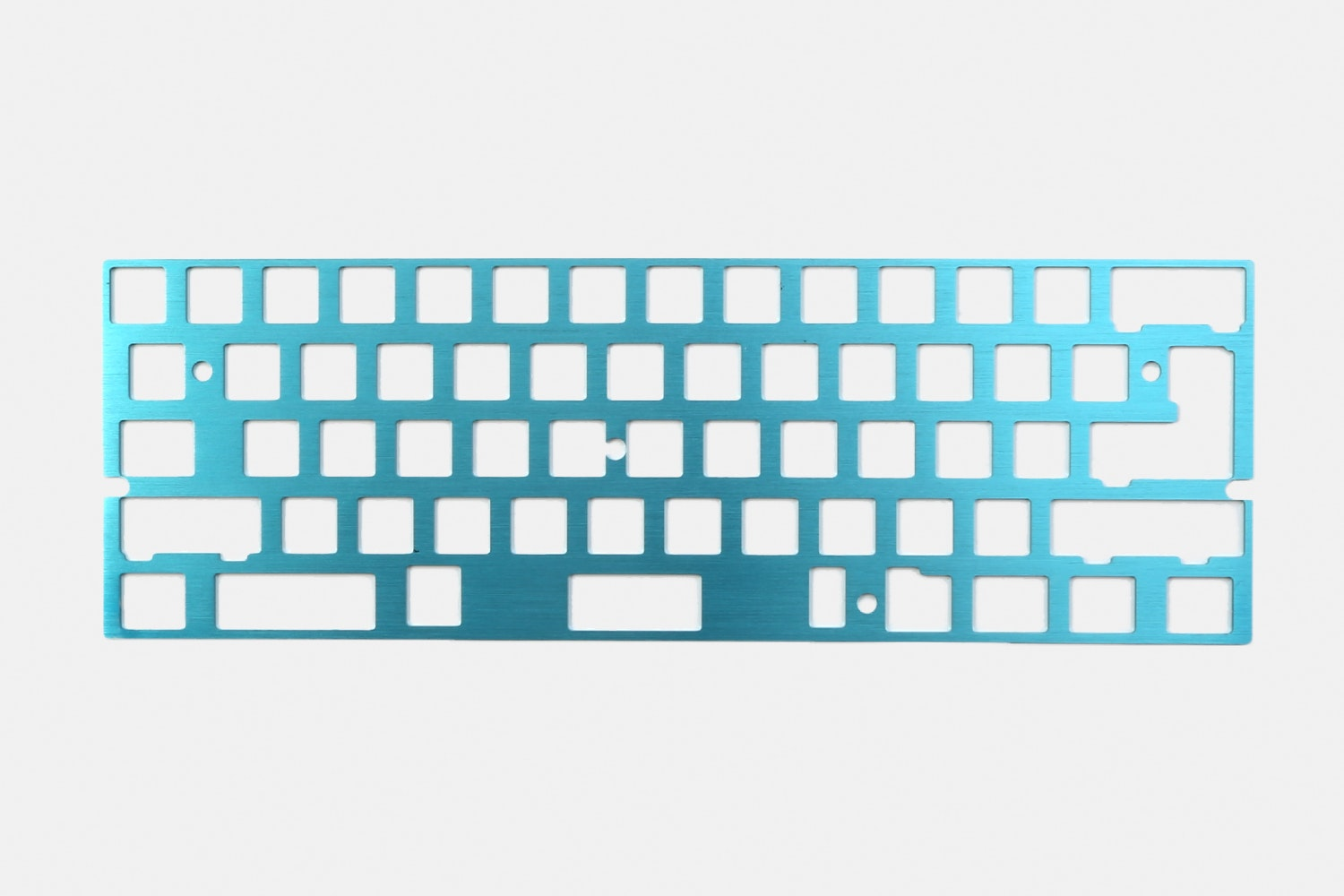 60% Aluminum Mechanical Keyboard Plate