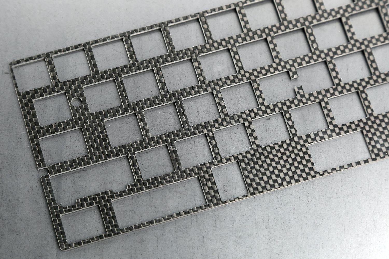 Sentraq 60% Keyboard Plate