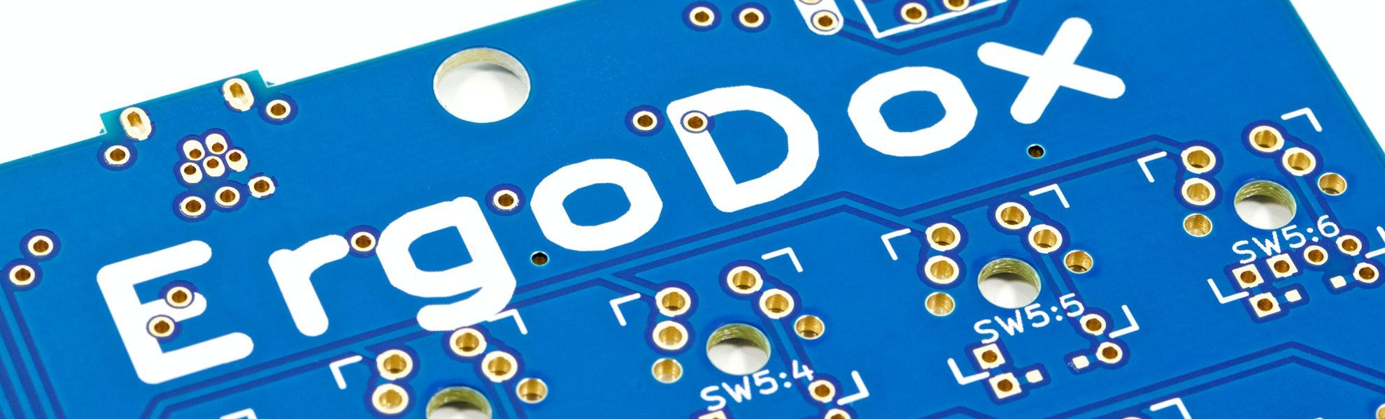 ErgoDox PCB (Single Piece)