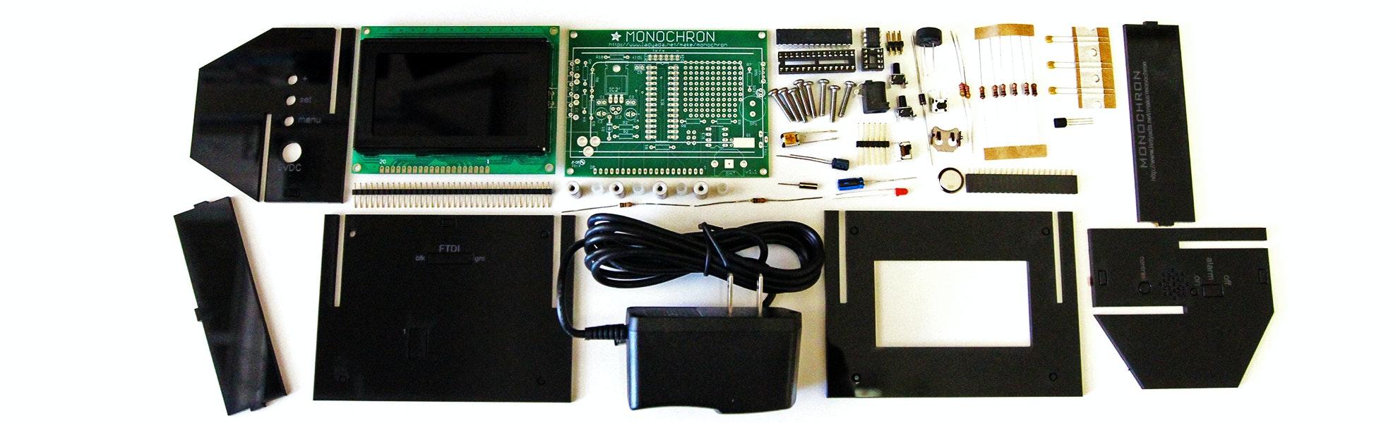 MONOCHRON Clock Kit