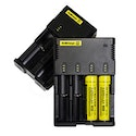 Nitecore Intellicharger i2/i4 and 18650 Batteries